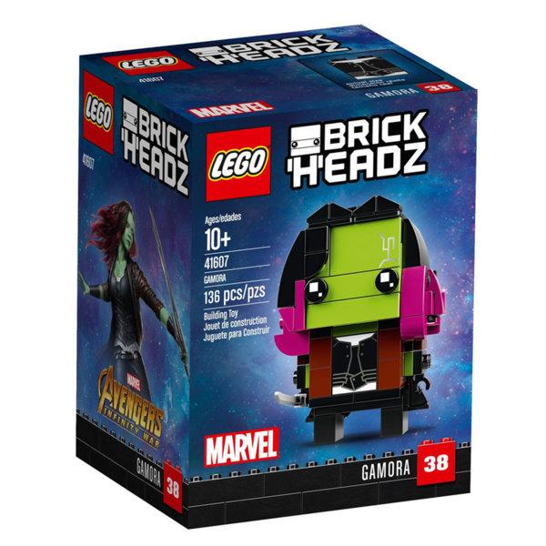 Lego 41607 BrickHeadz - Marvel Гамора