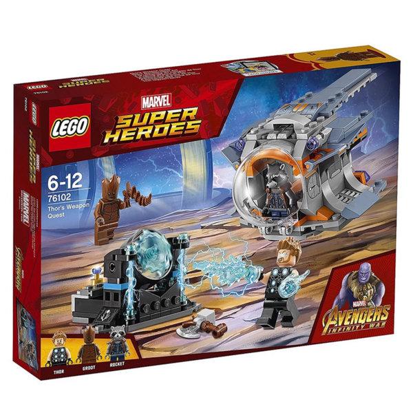 Lego 76102 Super Heroes - Avengers Мисия за оръжието на Тор