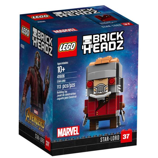 Lego 41606 BrickHeadz - Marvel Звездният повелител