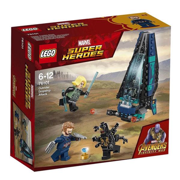 Lego 76101 Super Heroes - Avengers Нападението на ескортиращия кораб