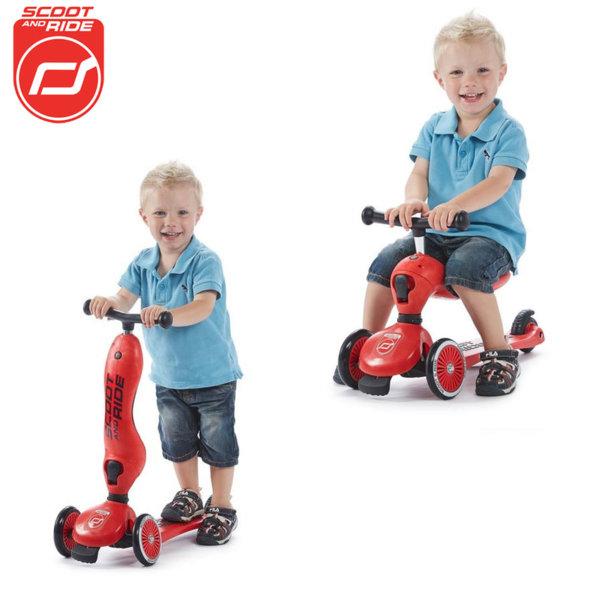 Scoot & Ride - Детска тротинетка и колело без педали 2в1 Highwaykick 1 96205