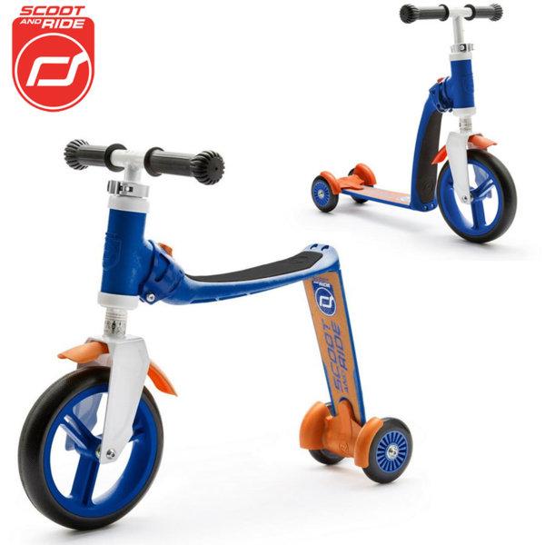 Scoot & Ride - Детска тротинетка и балансиращо колело 2в1 Highwaybaby+ 96196