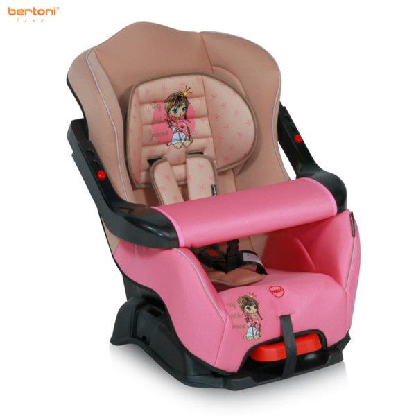 Bertoni - Стол за кола BUMPER Rose&Beige Princess (9-18kg) 10070171703
