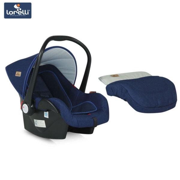 Lorelli - Столче кошница за кола LIFESAVER Blue (0-13kg) 100703018