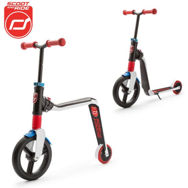 Scoot & Ride - Детска тротинетка и балансиращо колело 2в1 Highwayfreak 96174
