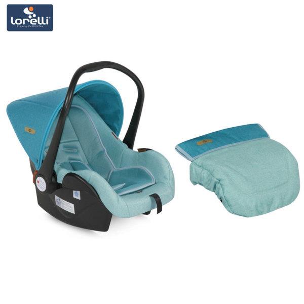 Lorelli - Столче кошница за кола LIFESAVER Aquamarine (0-13kg) 100703017
