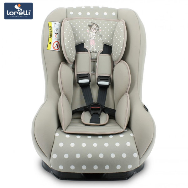 Lorelli - Стол за кола BETA PLUS Beige Girl (0-18kg) 100707818