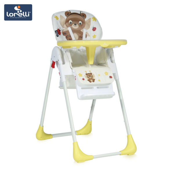Lorelli - Столче за хранене TUTTI FRUTTI Yellow Fairy Bear 1010026
