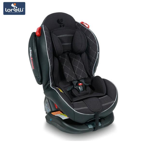 Lorelli - Столче за кола ARTHUR+SPS Isofix Black Leather (0-25kg) 100710617