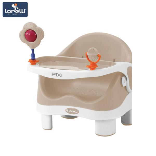 Lorelli - Столче за хранене PIXI Beige&White 1010028