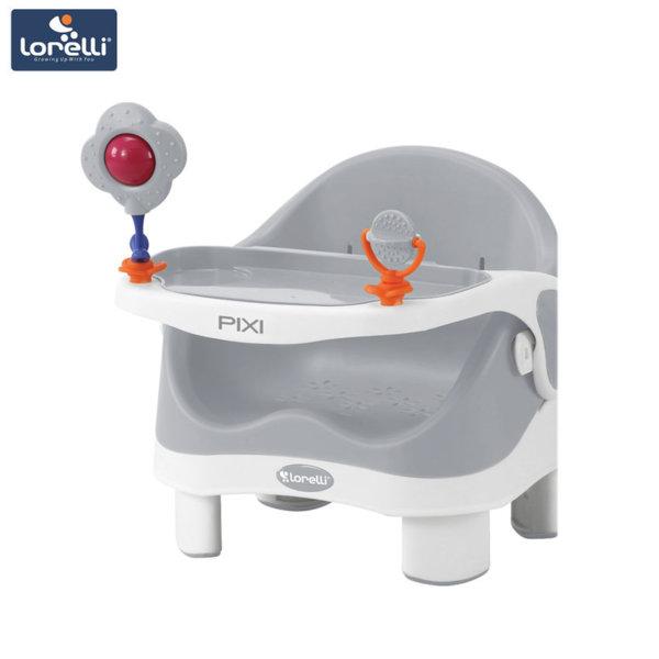 Lorelli - Столче за хранене PIXI Grey&White 1010028