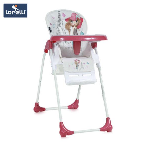 Lorelli - Детско столче за хранене OLIVER Pink Girl 1010025