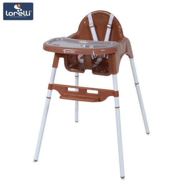 Lorelli - Детско столче за хранене AMARO Brown 1010029