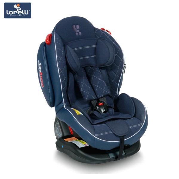 Lorelli - Столче за кола ARTHUR+SPS Isofix Dark Blue Leather (0-25kg) 100710617