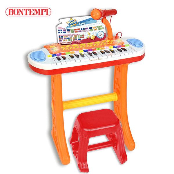 Bontempi - Детски електронен орган със стол 191294