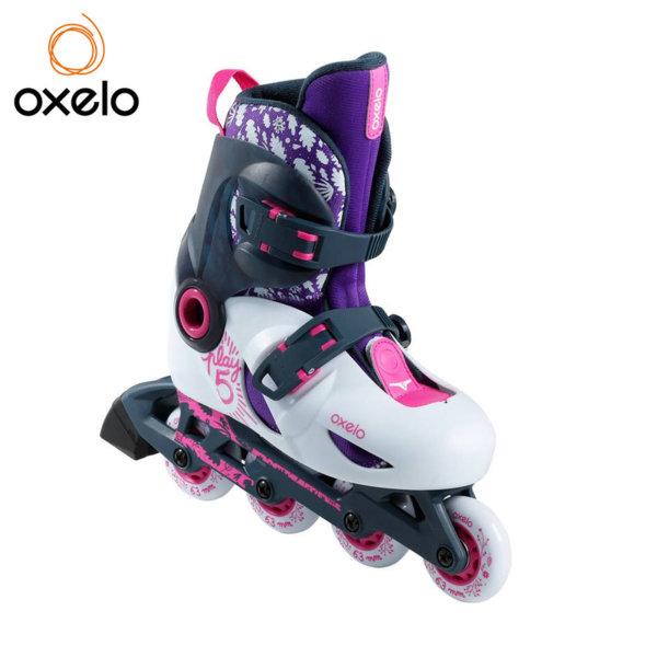 Oxelo - Детски регулируеми ролери Play5 92918