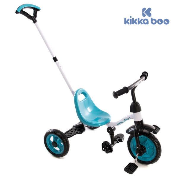Kikka Boo - Триколка с дръжка за възрастен WOW ME Blue 31006020031