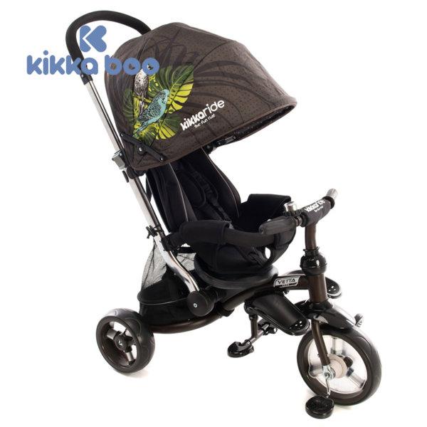Kikka Boo - Триколка със сенник и дръжка за възрастен 2в1 Vetta Parrots 31006020026