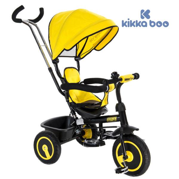 Kikka Boo - Триколка с родителски контрол Arrow Yellow 31006020007