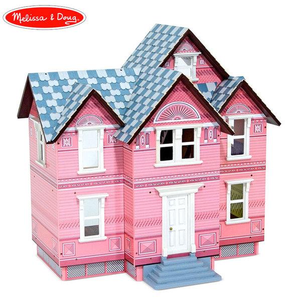 Melissa&Doug - Дървена къща за кукли Викториански стил 12580