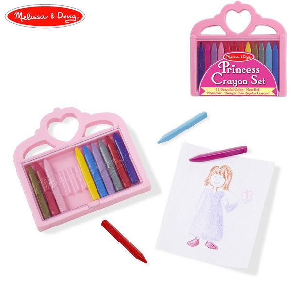 Melissa&Doug - Цветни пастели Принцеса 14155