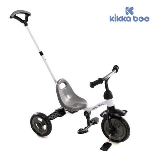 Kikka Boo - Триколка с дръжка за възрастен WOW ME Grey 31006020030