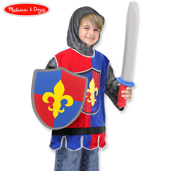 Melissa&Doug - Детски карнавален костюм Рицар 14849