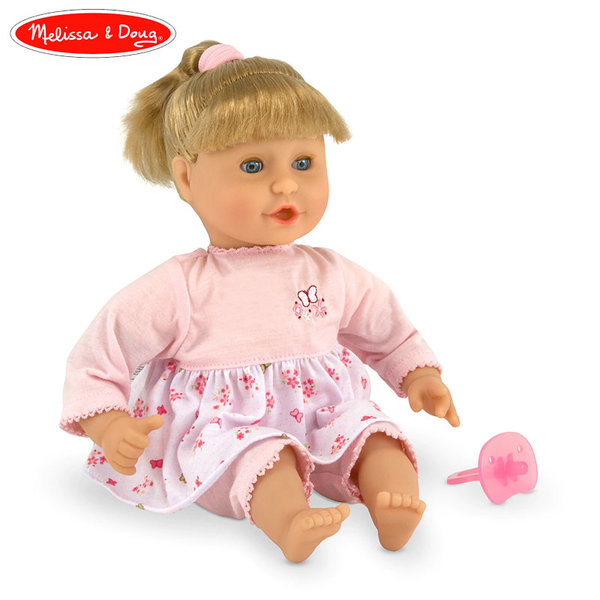 Melissa&Doug - Кукла Натали с биберон 14882