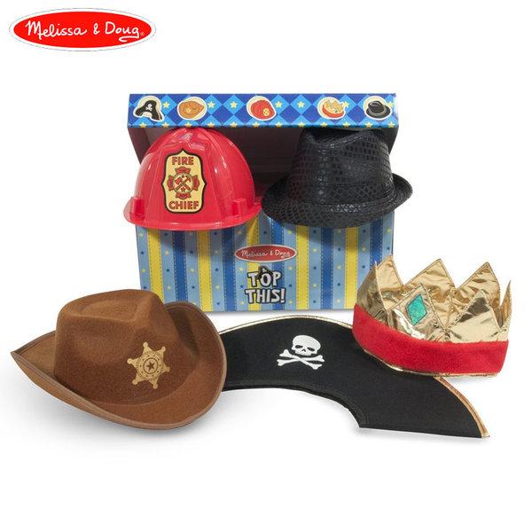 Melissa&Doug - Комплект от 5 карнавални шапки 18526