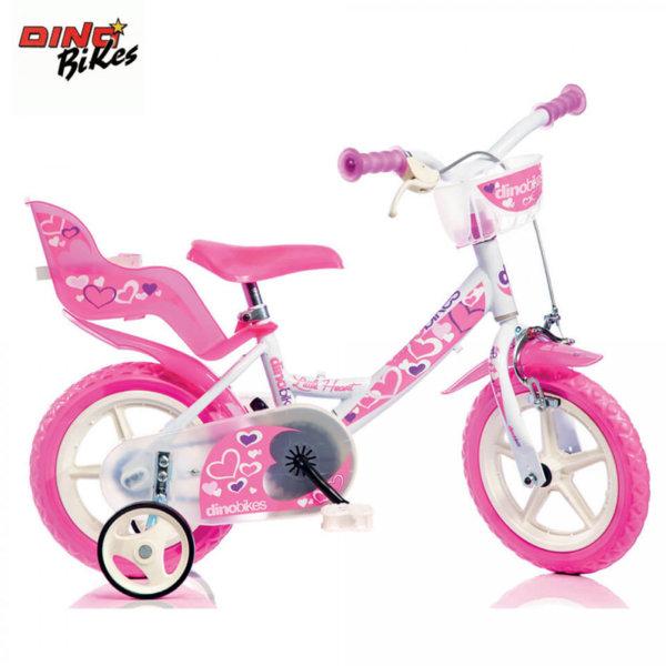 """Dino Bikes - Детско колело Little heart 12"""" 8006817903109"""