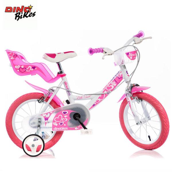 99053a7a29a Dino Bikes - Детско колело Little heart 14