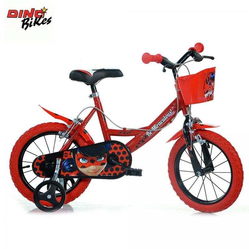 61b4585fa53 Dino Bikes Miraculous - Детско колело 14