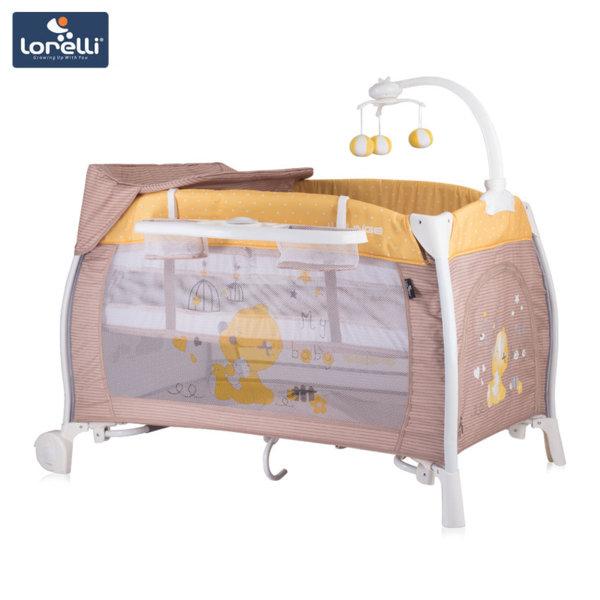 Lorelli - Бебешка кошара iLOUNGE 2 нивa Beige&Yellow My Baby 10080021809