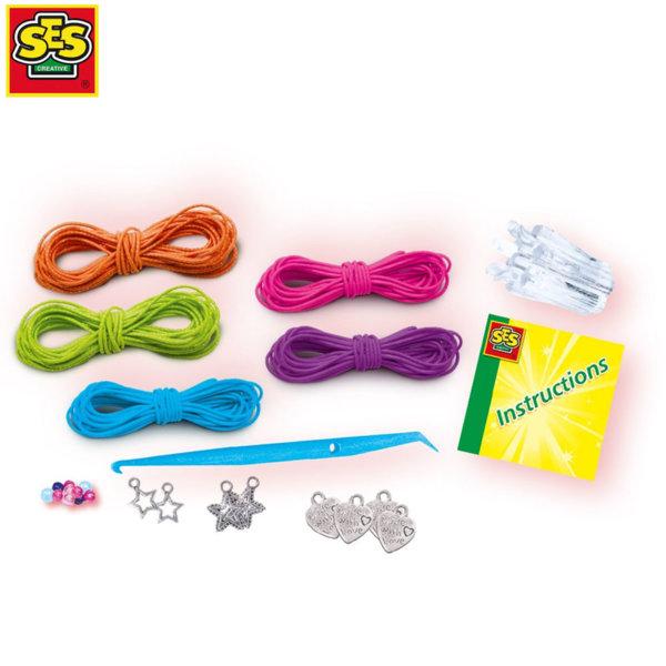 SES Creative - Направи си гривни с ластични въженца 14668