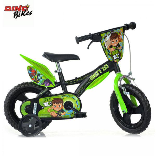 "Dino Bikes Ben 10 - Детско колело 12"" Бен10 8006817902324"