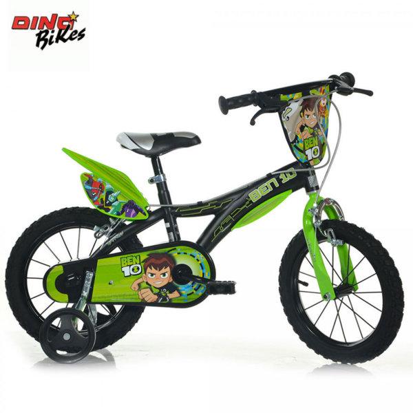 "Dino Bikes Ben 10 - Детско колело 14"" Бен10 8006817902331"