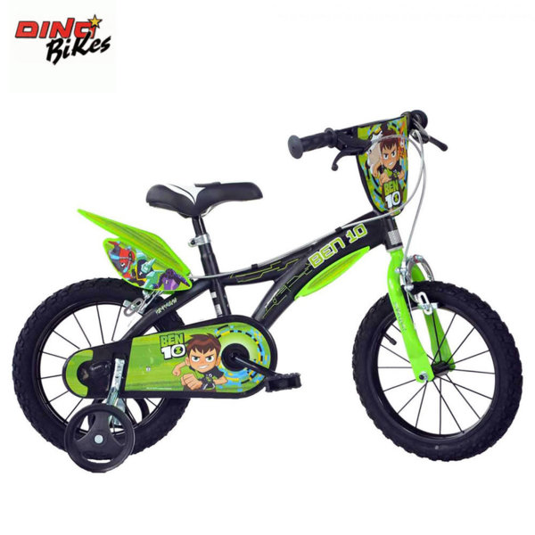 "Dino Bikes Ben 10 - Детско колело 16"" Бен10 8006817902348"