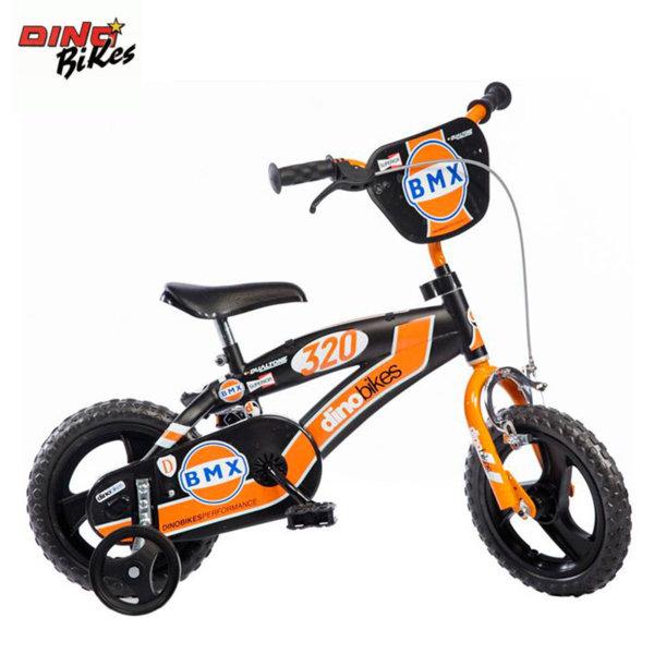"""Dino Bikes - Детско колело 12"""" BMX orange 8006817901686"""