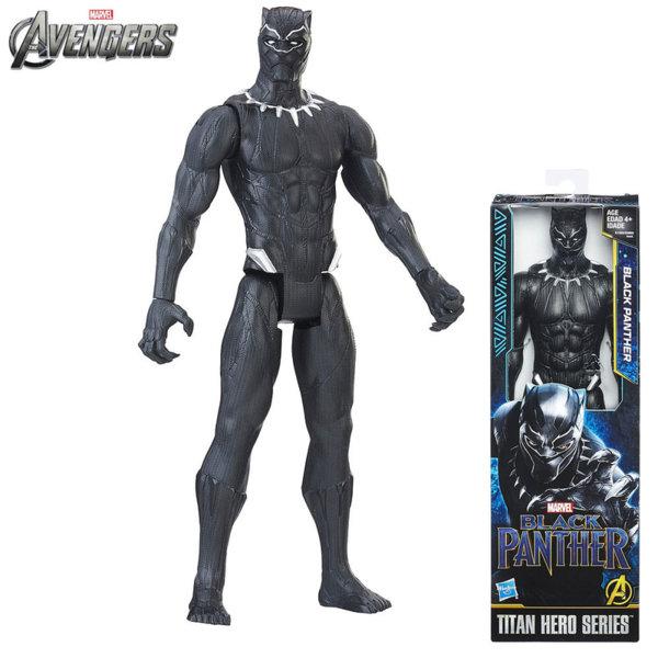 Marvel Avengers - Екшън фигура 30см Черната Пантера Titan Hero E0869