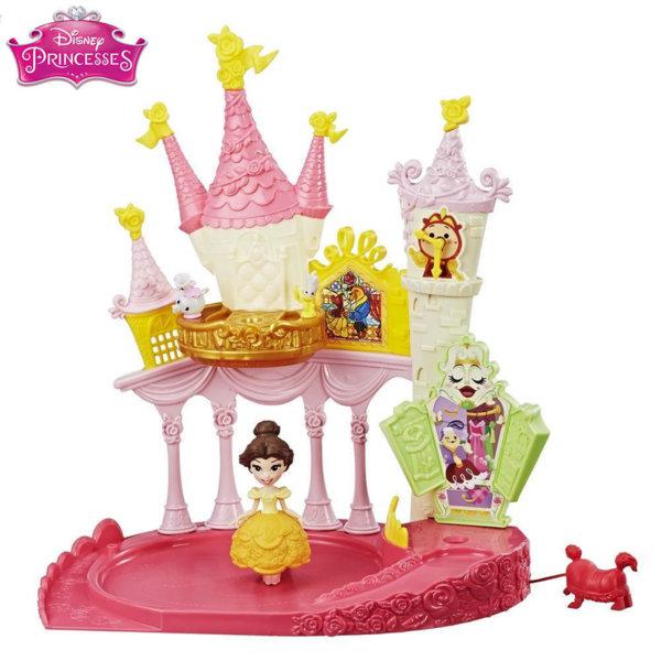 Disney Princess - Балния салон на Бел с въртяща се мини кукла e1632