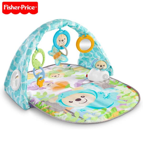 Fisher Price - Активна гимнастика с музикална играчка Мече DYW46