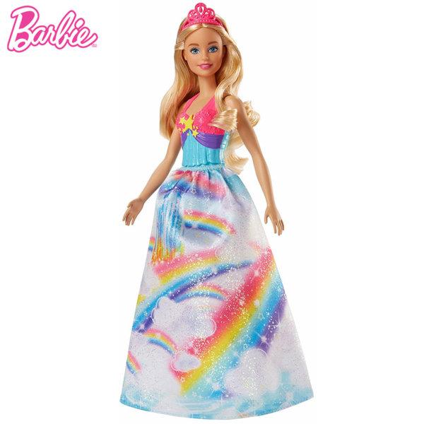 Barbie Dreamtopia - Кукла Барби принцеса Rainbow Cove FJC94