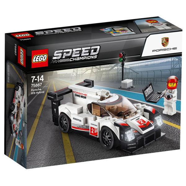 Lego 75887 Speed Champions - Порше хибрид 919