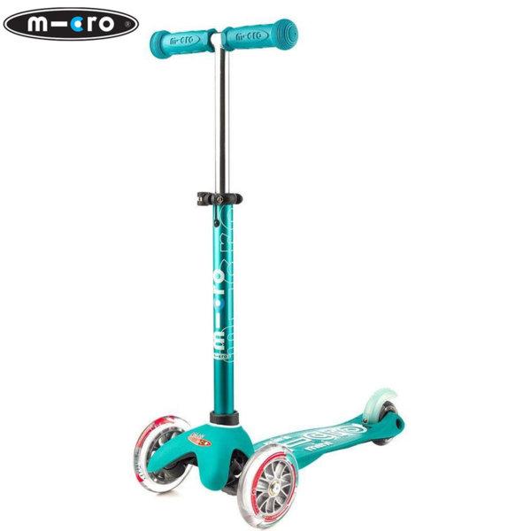 Micro - Детска тротинетка с три колела MINI MICRO DELUXE Aqua MMD001