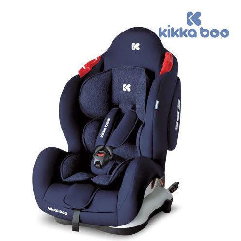 Kikka Boo - Стол за кола 0-36 кг Senior с Isofix Dark blue 31002080033