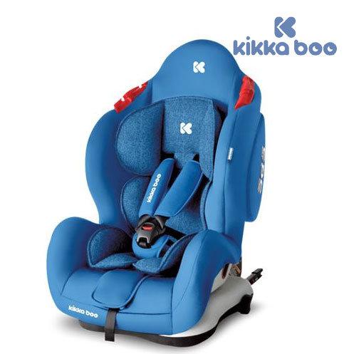 Kikka Boo - Стол за кола 0-36 кг Senior с Isofix Light blue 31002080034