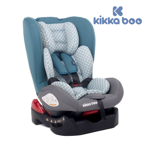 Kikka Boo - Стол за кола от 0 до 18 кг Vintage Raye Dark Blue 31002030012