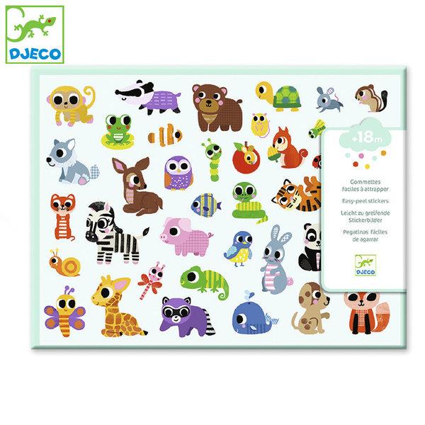 Djeco - Детски стикери Baby Animals DJ09085