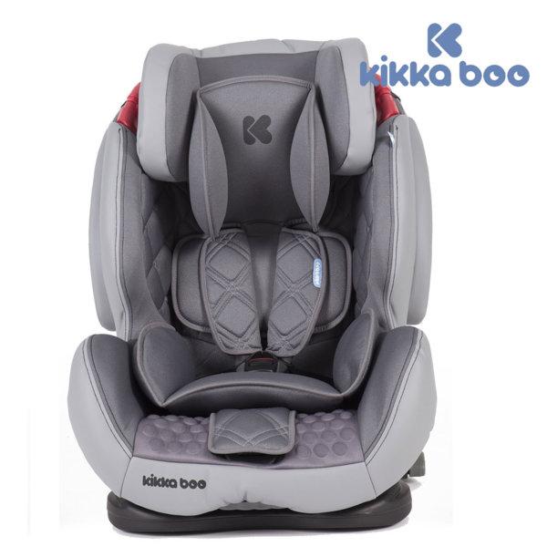 Kikka Boo - Стол за кола 9-25кг Major с Isofix Gray 31002080029