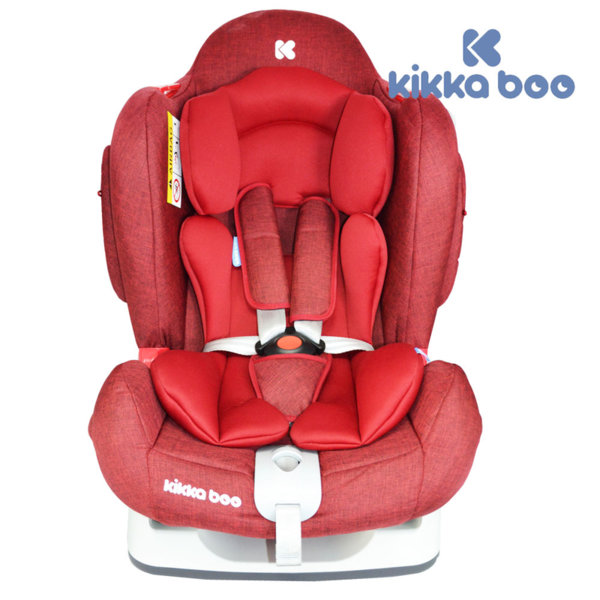 Kikka Boo - Стол за кола от 0 до 25 кг O'Right със SPS Red 31002060009